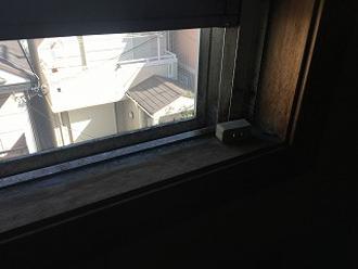 壁際は湿気が溜まりやすくカビも生えやすい