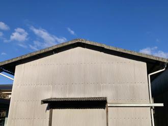 勾配が緩やかな屋根