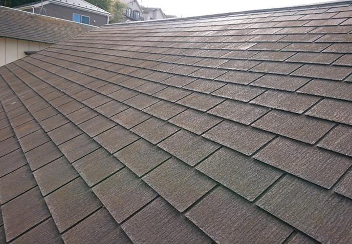 スペリオルネオが使用されたスレート屋根