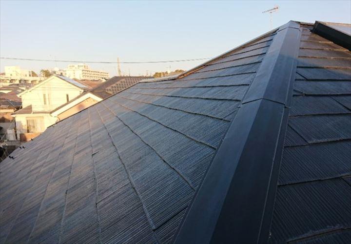塗膜の状態が良いスレート屋根