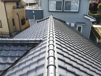 近所の屋根業者に漆喰が剥がれていると指摘をされ調査