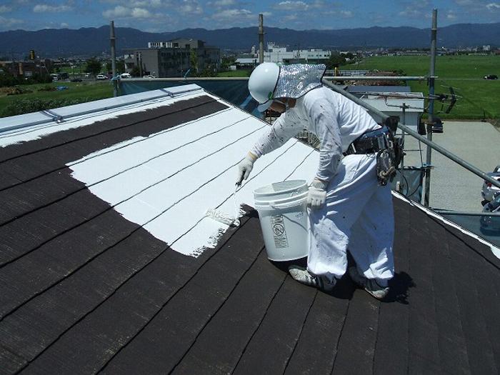 日射反射率を高める屋根塗装