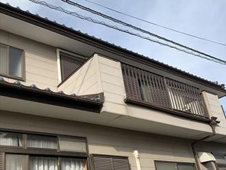 バルコニーの屋根