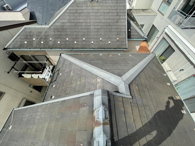 指摘を受けた屋根