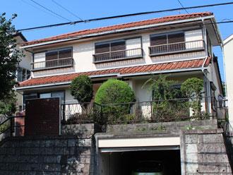 横浜市青葉区 棟取り直し工事 屋根部分葺き替え工事 外壁塗装工事 施工後
