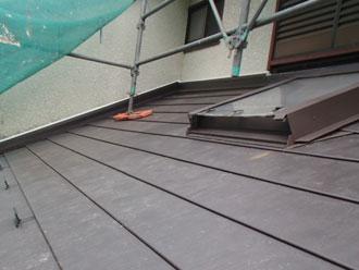 横浜市青葉区 屋根葺き替え 新規屋根材設置