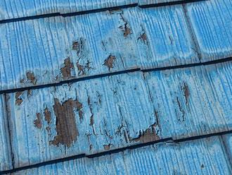 保土ヶ谷区 屋根点検 屋根塗装 剥離