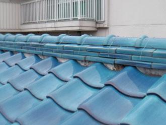 横浜市港北区 漆喰詰め直し工事 施工前
