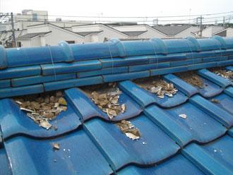 横浜市港北区 既存漆喰撤去