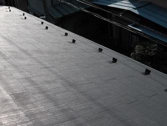 横浜市緑区 雪止め金具設置 施工後