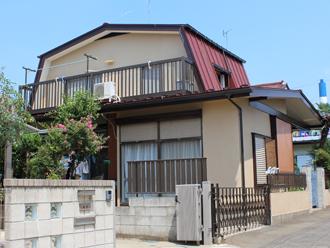 横浜市都筑区 屋根カバー 外壁塗装 施工後