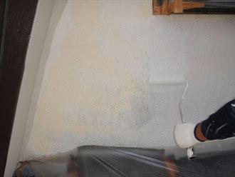 横浜市都筑区 外壁下塗り