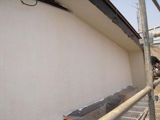 横浜市都筑区 外壁下塗り後