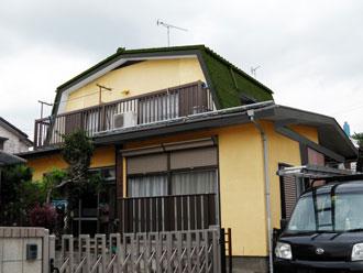 横浜市都筑区 屋根点検 塗料はがれ 錆