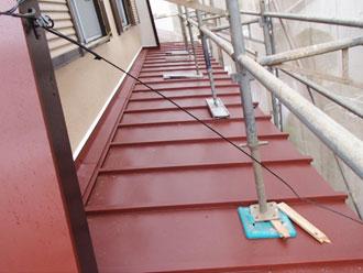 横浜市都筑区 屋根カバー 完工