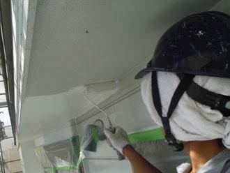 横浜市緑区 細部塗装 軒天塗装