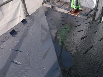 横浜市緑区 屋根塗装後